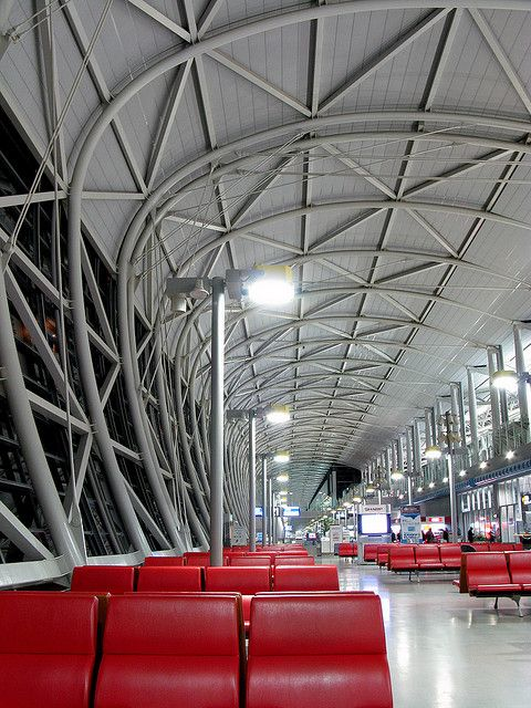 Kansai International Airport, Osaka, Japan | Architect: Renzo Piano 関西国際空港