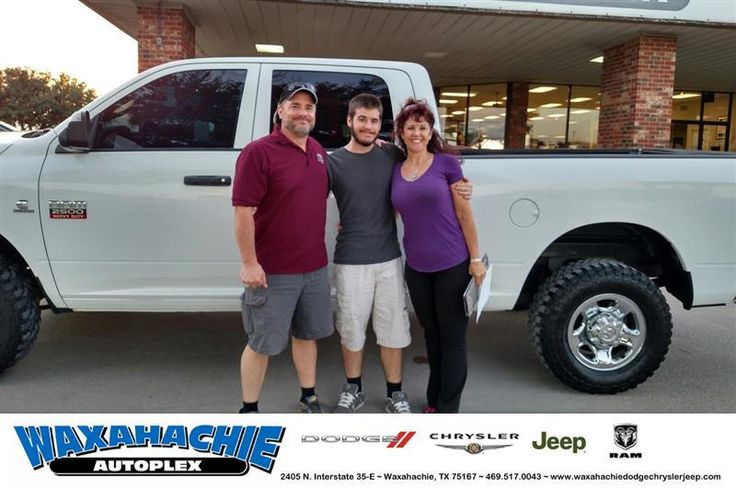 https://flic.kr/p/MEunCC | Happy Anniversary to Steve on your #Ram #2500 from Brenda Centers at Waxahachie Dodge Chrysler Jeep! | deliverymaxx.com/DealerReviews.aspx?DealerCode=F068