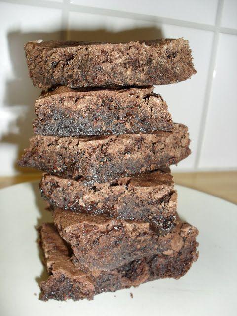 Holy macaroni!: Brownies med kakaopulver
