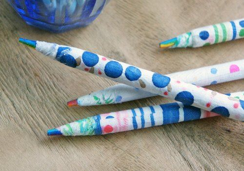 Painted painted pen (the three)
