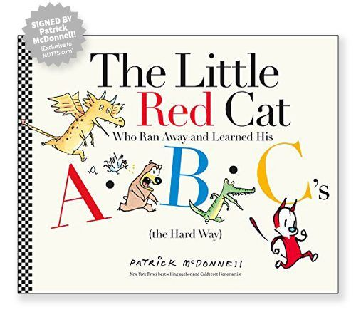 """Patrick McDonnell's ABC book """"The Little Red Cat"""" has received praise from The New York Times, Publishers Weekly, School Library Journal, and more!"""