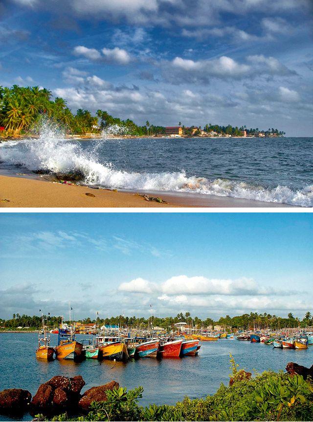 Beruwala, Sri Lanka #SriLanka #Beach #Boats
