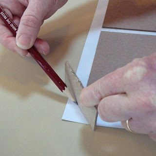 nifty tips for hard covers by Alisa Golden, authority of Making Handmade Books, a personal favorite from my reference library.