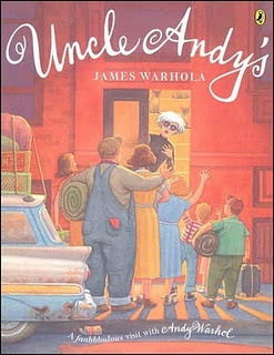 """Andy Warhol's brother writes a wonderful children's book about his children visiting their """"Uncle Andy"""" in NYC. Quite a different experience for the children....and...for Andy!"""