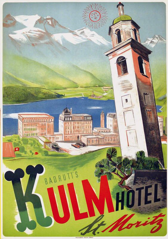Saint Moritz Diggelmann Kulm Hotel