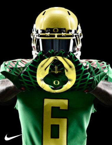 Oregon Ducks season opener uniforms