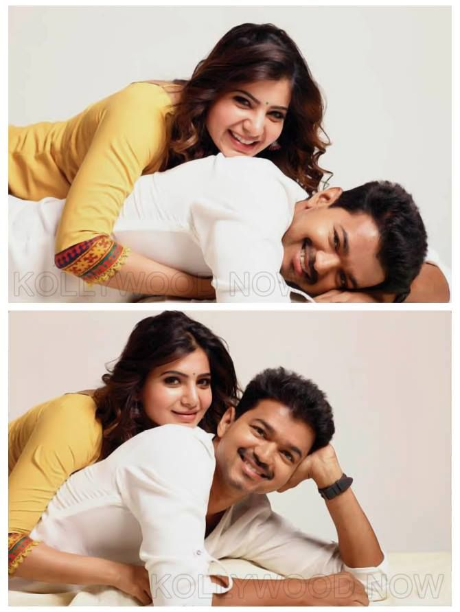 Vijay at Kaththi Movie Still