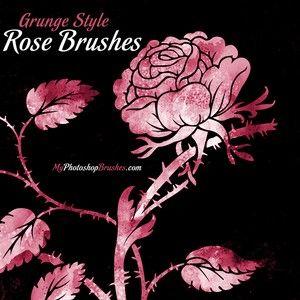 Free Rose PS Brushes http://myphotoshopbrushes.com/brushes/id/3294/
