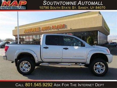 2010 Nissan Titan SE, 6 IN LIFT Crew Cab at National Auto Plaza Sandy in Sandy, UT