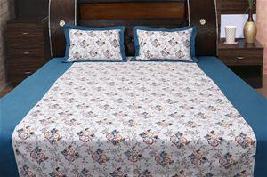 Floral Bonanza Printed #Bedsheet Set W/2 Pillow by Dekor Worlds.  #Homedecor #DecorHome