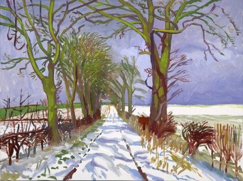 david hockney ipad paintings - Google Search