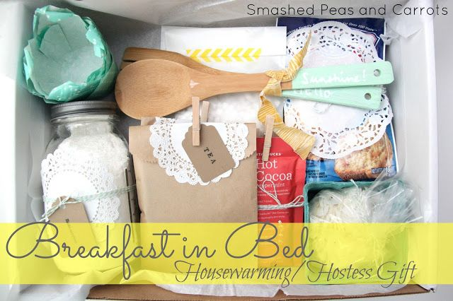 Smashed Peas and Carrots: Breakfast in Bed: Housewarming/Hostess Gift Idea