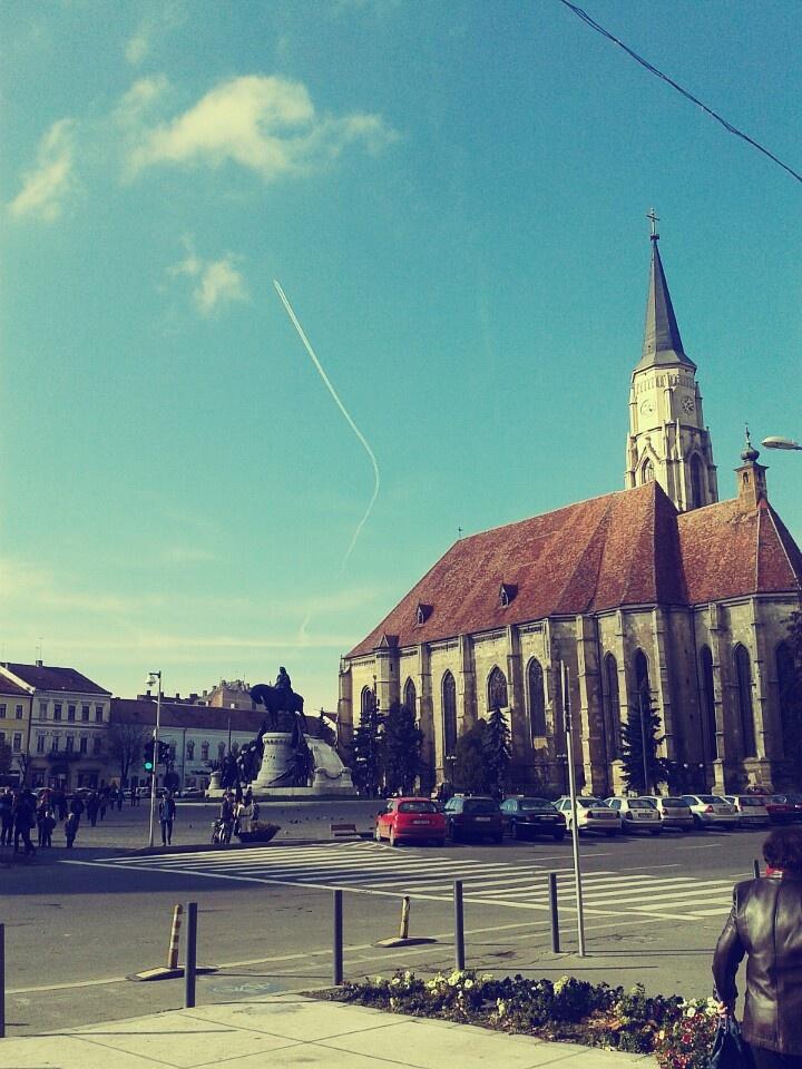Chatedral in Cluj - Napoca, Romania