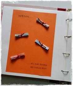 Wenn-Buch als Geschenk - super tolle Idee!!