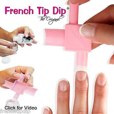 French-Tip-Dip-French-Manicure-amp-Pedicure-Kit-As-Seen-on-TV-HSN-QVC-Today-Show