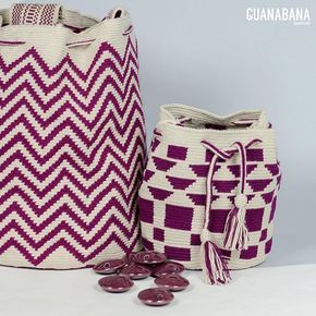 Saturday proposal for this rainy day : burgundy version of our ST BARTHS and ANTIBES bucket bag #guanabanahandmade #wayuubag #designinspain #handmadeincolombia #guanabanabag #guanabana #bucketbag #crossbodybag #burgundy #fashion #supportingwomen