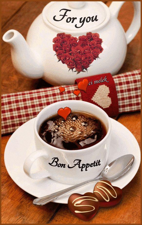С добрым утром картинки с кофе и шоколадом анимация