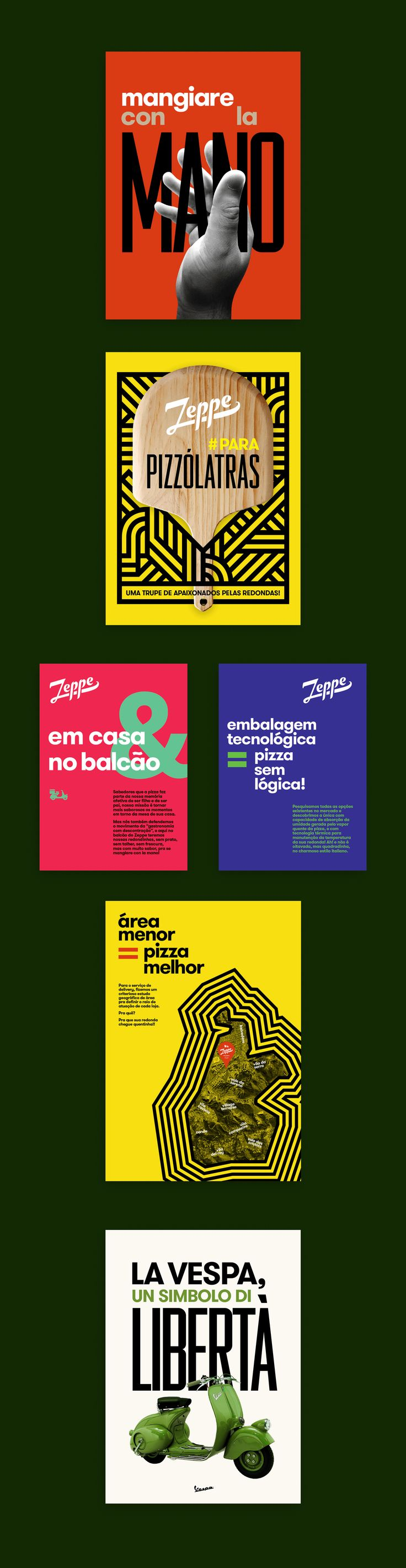 Poster design needed - The Zeppe Deliveria Della Pizza Is The Latest Original Restaurant From Grupo Mar From Belo