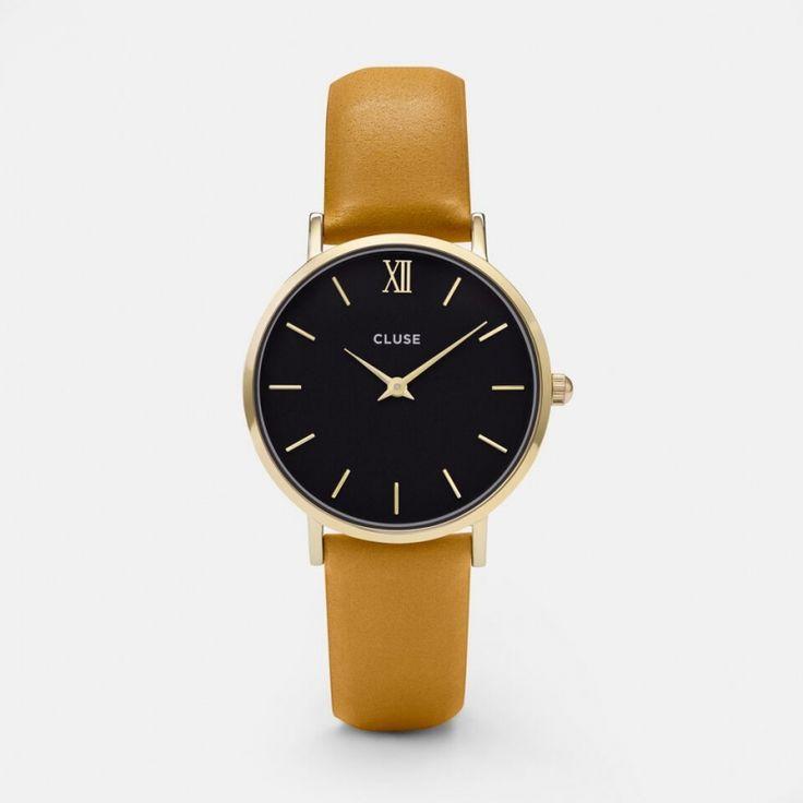 Minuit Gold Black/Mustard CL30035