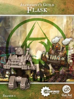 Steam Forge Games - GuildBall: Alchemist: Flask #STFBALC01-003