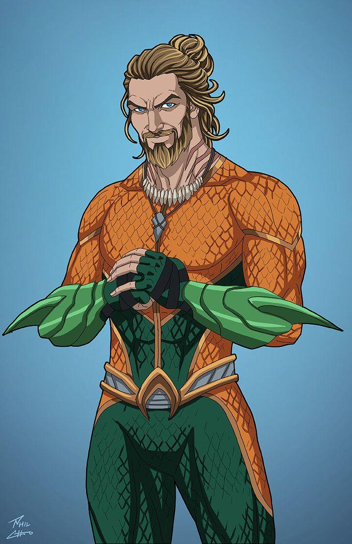 Aquaman v.2 (Earth-27) commission by phil-cho.deviantart.com on @DeviantArt