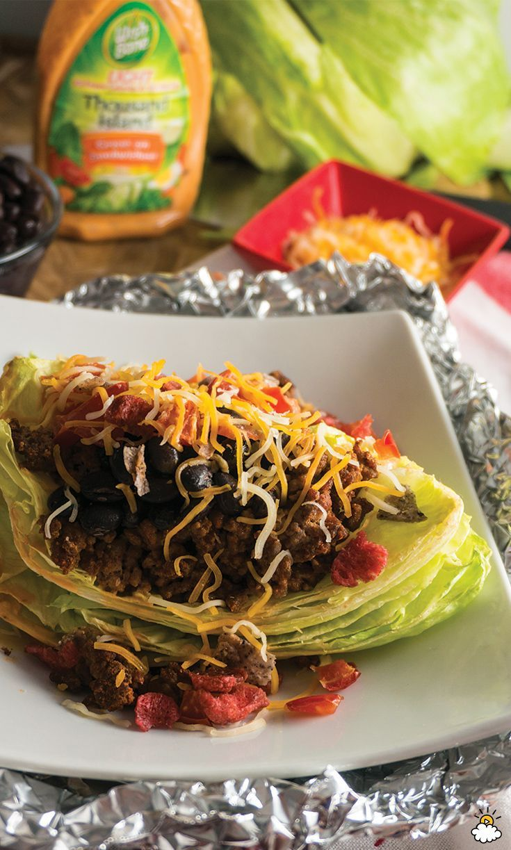 Taco Wedge Salad: A Spicy Twist On A Classic Iceberg Wedge