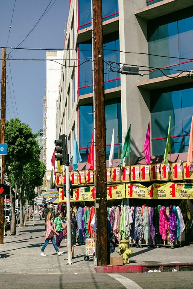 Textile manufacturers and importers in LA - LA Fashion District #fabrics #manufacturing #fashion #fashiondesign #DIY