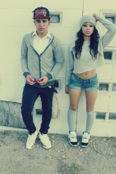 Swag couple   Tumblr (Love her outfit)   Clothes   Pinterest   Couple Love and Love her