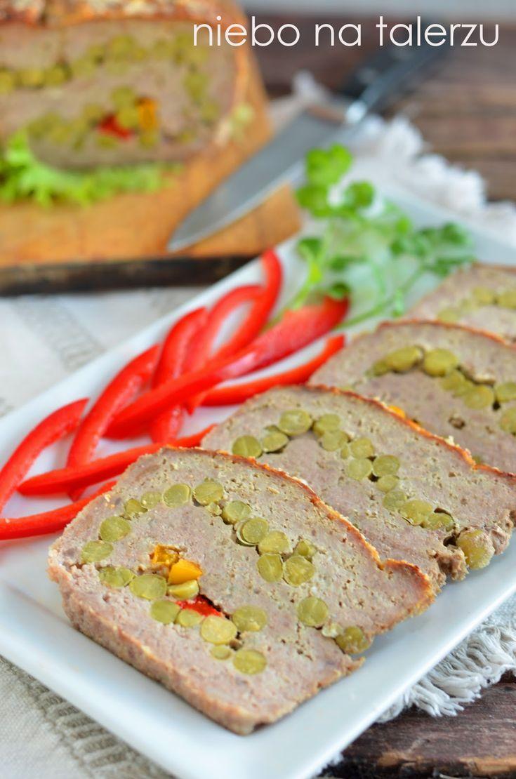 niebo na talerzu: Pieczeń z mięsa mielonego zwijana