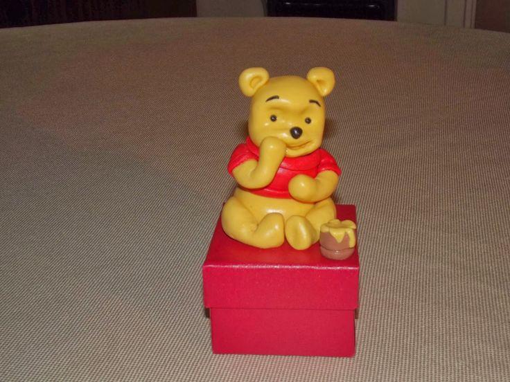 winnie the pooh in pasta di mais