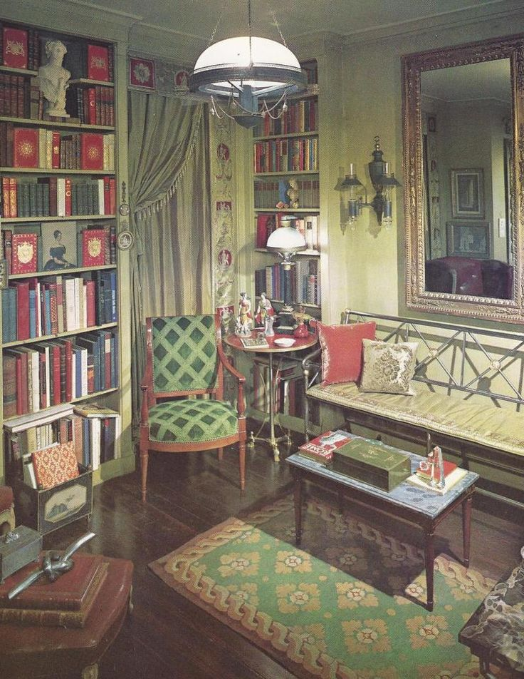Motel Room Interiors: Vintage Home Decorating, 1960s Home Decor