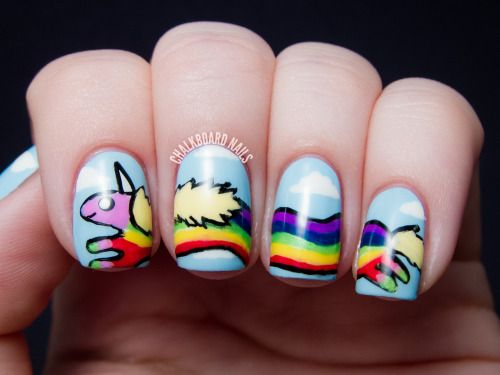 42 best Crazy Nails for Halloween images on Pinterest | Nail art ...