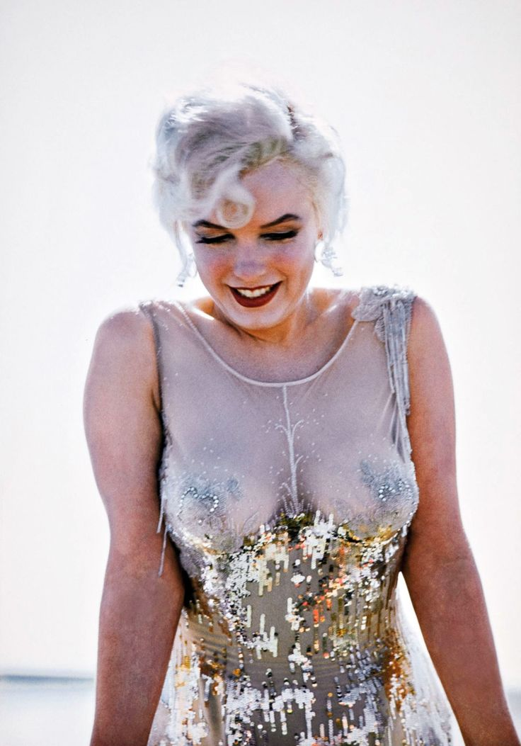 sequins on sheer, not to mention Marilyn Monroe.