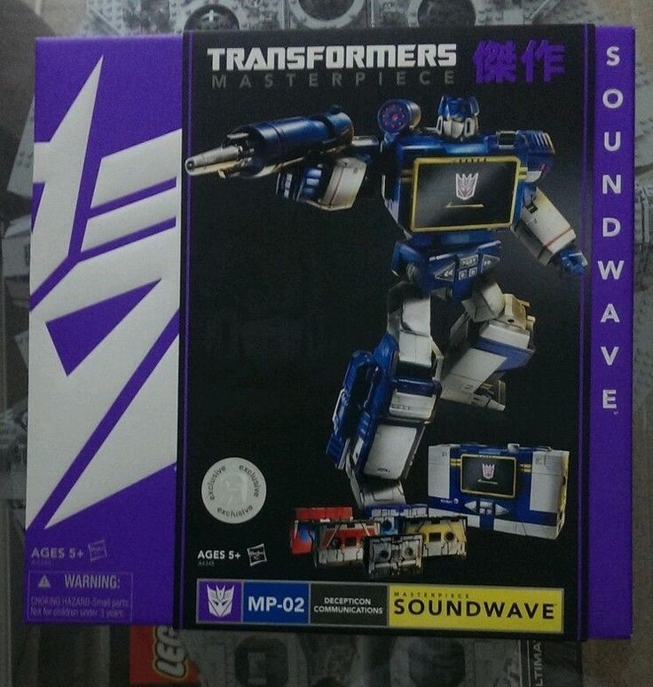 Transformers Masterpiece Soundwave MP -02 MISB BRAND NEW SDCC