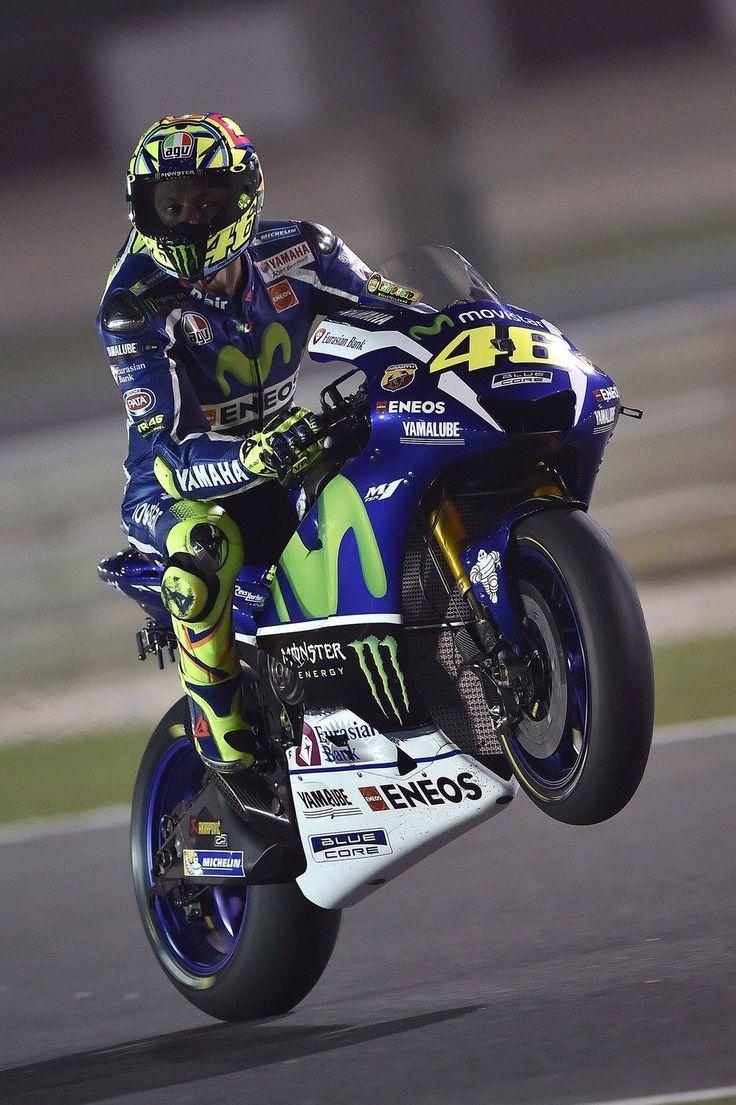 Valentino Rossi, Qatar 2016. | Valentino Rossi 46. | Pinterest | Valentino rossi and Valentino