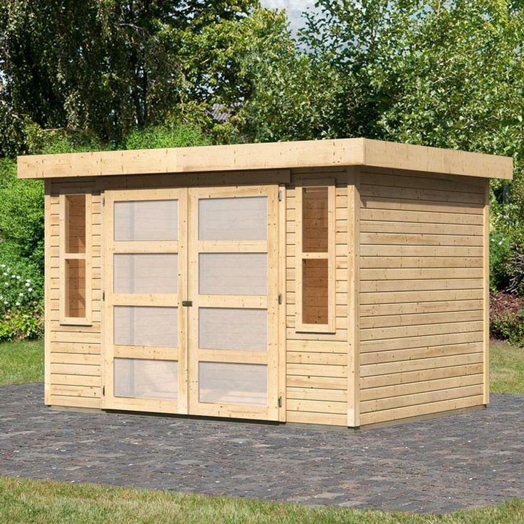Les 25 meilleures id es concernant abri jardin toit plat for Abri jardin toit plat pvc