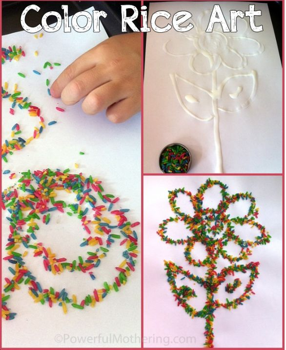 SO EASY & SO FUN for the kids!!! Teaches creativity, its educational & its a great sensory activity, too!