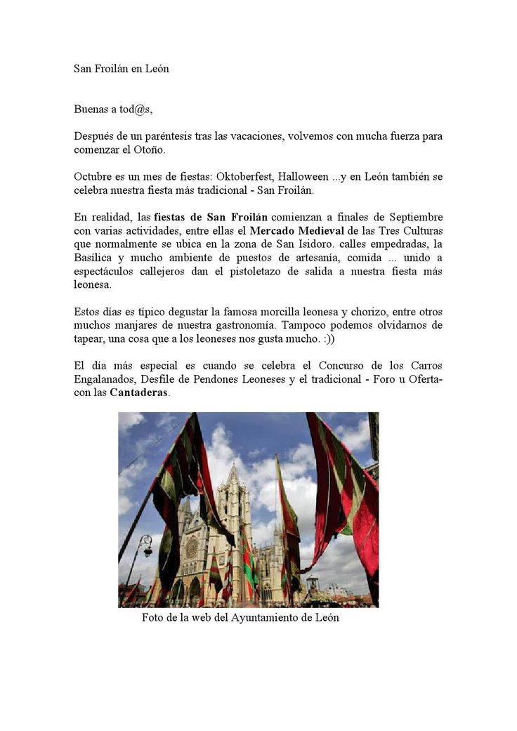 Fiestas de San Froilán en León