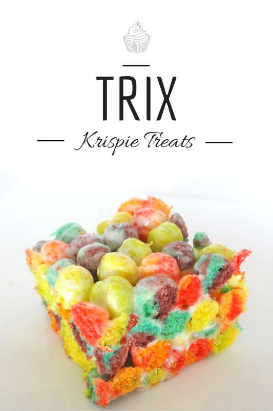Trix Krispie Treats, kid friendly recipe, cereal bars, Rice Krispie treats, simple recipe, Marshmallow cream, Summertime boredom has set in for the kids....