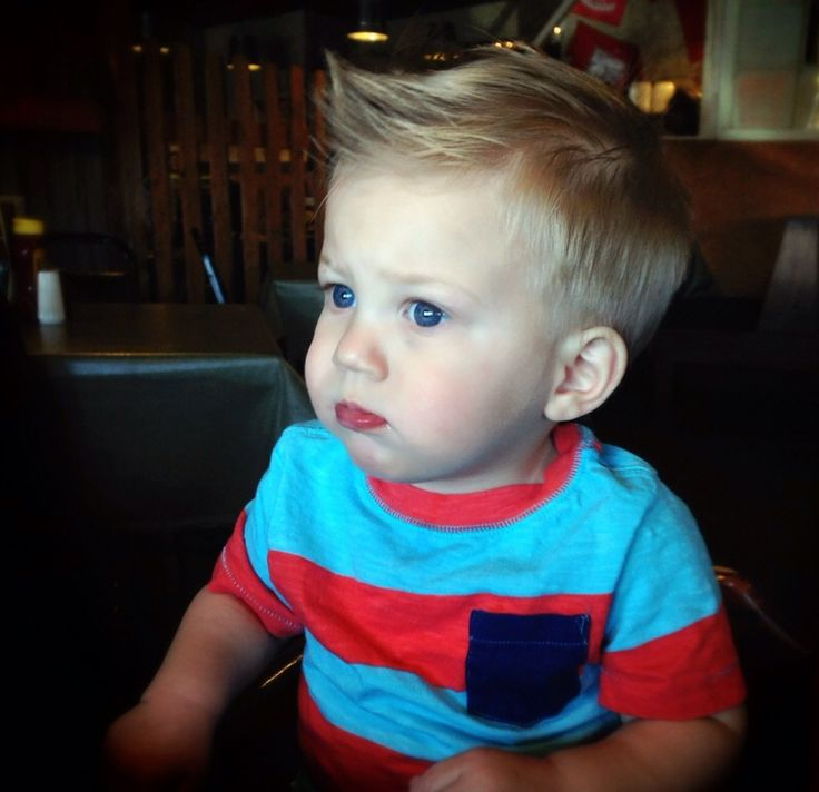 Toddler boy haircut Little boy hair styles Pinterest Its always ...