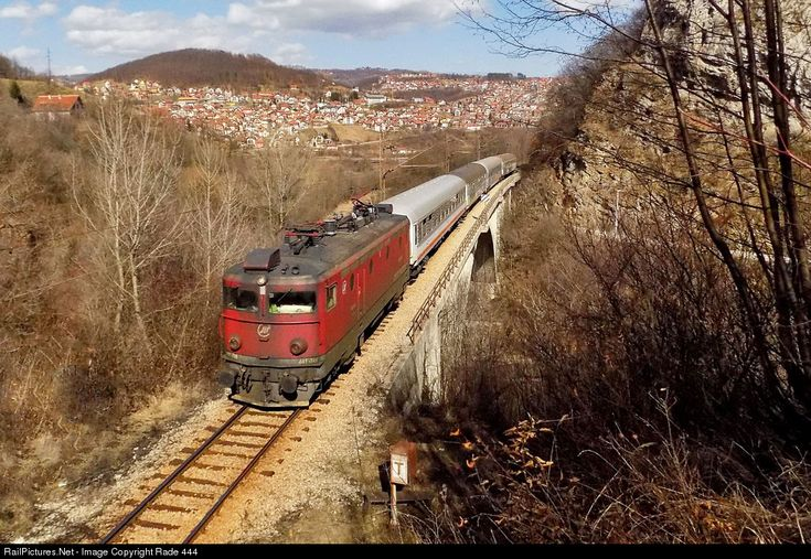 RailPictures.Net Photo: 441-748 Beograd- Bar 441 at Uzice, Serbia and Montenegro by Rade 444
