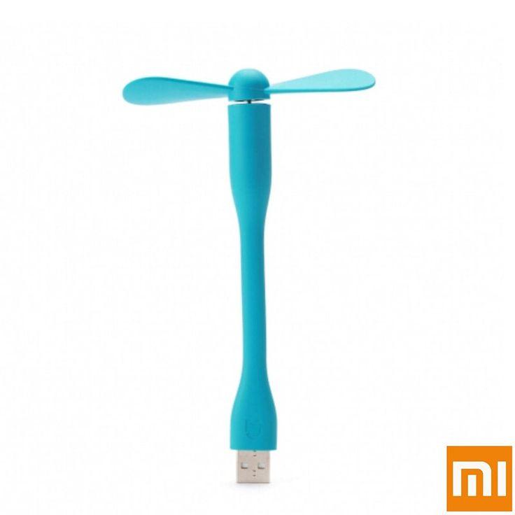 Original Xiaomi USB Flexible Del Ventilador USB Mini Ventilador Portátil Para El Banco De Potencia y Notebook Ordenador Portátil y la Computadora de Energía ahorro