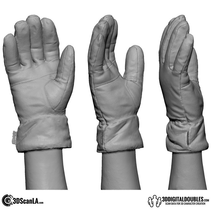 3D Head and Body Scanning for 3D Character Design   3D Hand Scan 01-12