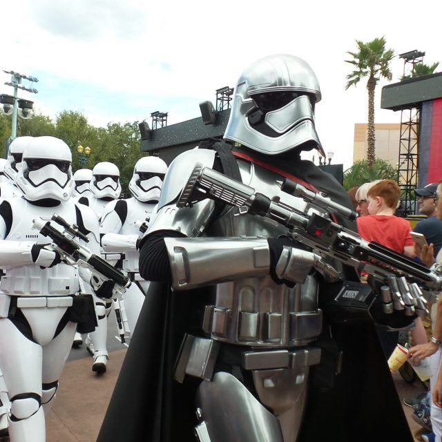 March of the First Order at Disney's Hollywood Studios at Walt Disney World in Orlando, Florida, USA