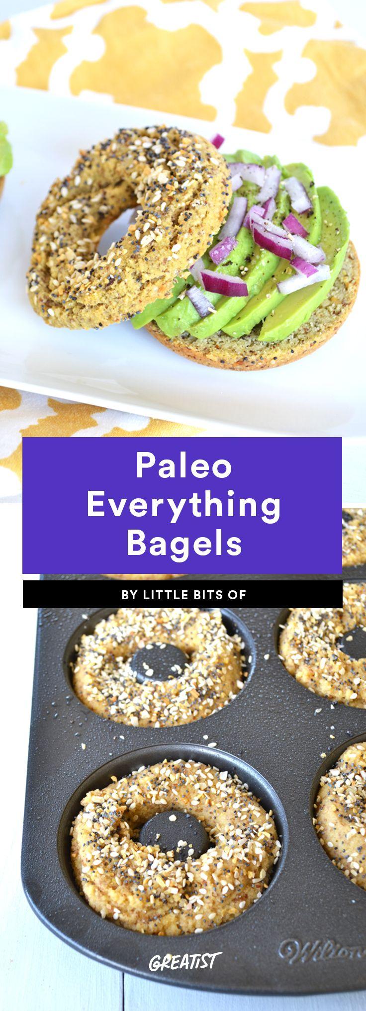 9. Paleo Everything Bagels #greatist https://greatist.com/eat/paleo-bread