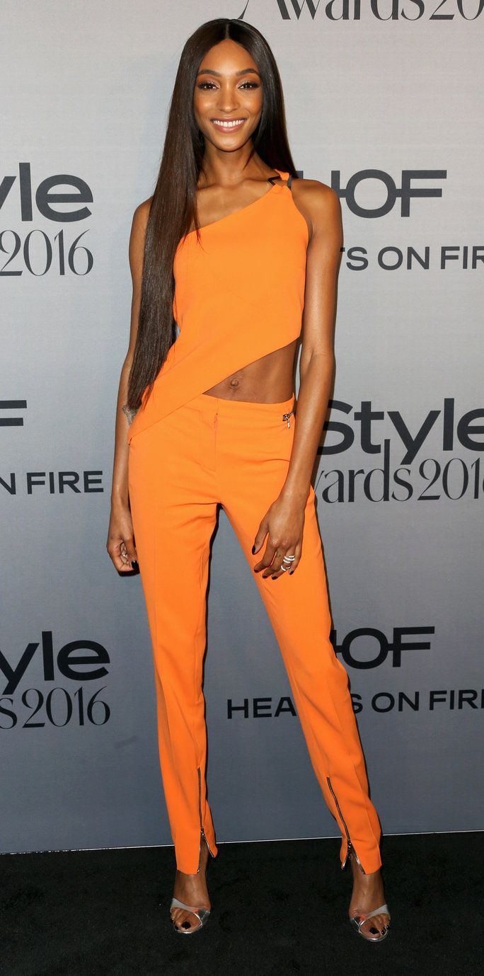 Jourdan Dunn Instyle Awards LA 2016