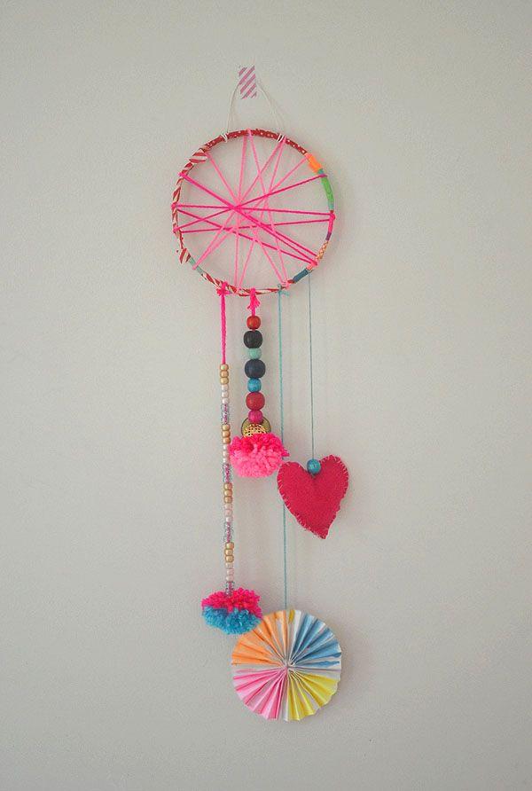 DIY Dream Catchers // Made by Kids