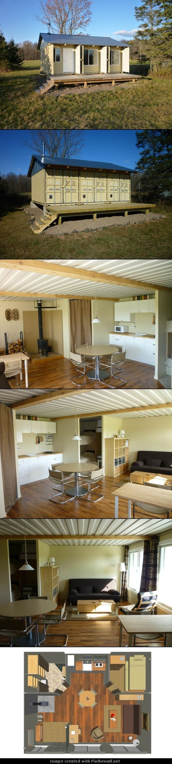 Container house::