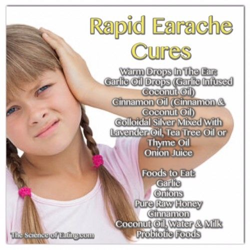 Foods That Cure Earaches