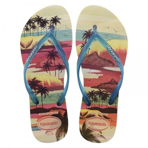 A perfect flip flops that are not just for summer! Shop now! Havaianas Slim Paisage Beige/Blue Flip Flop @flopstore.my http://flopstore.my/my_english/havaianas-slim-paisage-beige-blue-flip-flop.html